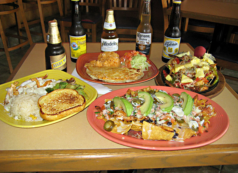 Selection of Special Mexican Beers